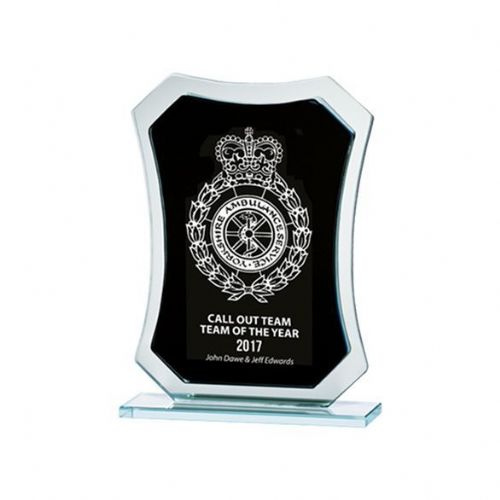 Phantom Mirror Award Black & Silver 145mm